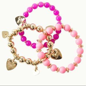 NWT Via Amor LILLY PULITZER Bracelet Set OS
